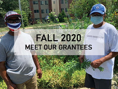 Meet Our New Grantees